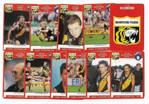 1991 Stimorol Richmond Team Set ****