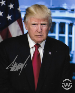 President Donald Trump Autographed Signed 8X10 Photo  REPRINT