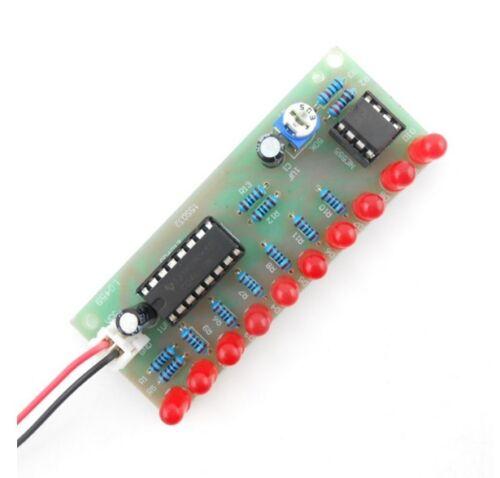 1PCS NEW NE555+CD4017 Light Water Running Water LED DIY Kits