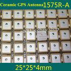 2pcs Ceramic GPS Antenna 1575R-A Passive Antenna 1575.42MHZ 25* 25* 4mm