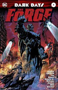 Dark-Days-The-Forge-1-1st-Print-Foil-Cover-2nd-Print-Variant-DC-Comics-Batman