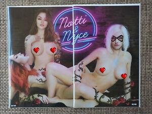 Notti-amp-Nyce-034-Best-Friends-034-Naughty-Virgin-Set-By-Piper-Rudich-Ltd-100-On-Hand