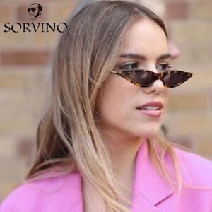 Steampunk Small Retro Cat Eye Sunglasses Classic Vintage Women Fashion Shades Us