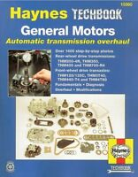 General Motors Automatic Transmission Overhaul: Models Covered, Thm200-4r, Thm35