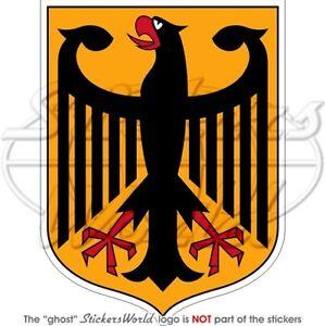 GERMANY-German-Coat-of-Arms-Deutschland-4-034-100mm-Vinyl-Bumper-Sticker-Decal
