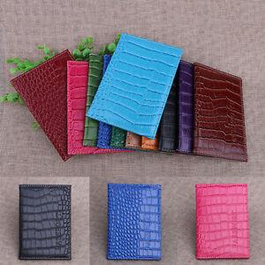 Mode-Kunstleder-Passport-Cover-Reisepasshuelle-Pass-Huelle-Reisepass-Etui-pro-O4S1