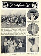 Fürstin Elisabeth Windischgrätz im Kreise ihrer Kinder 1913