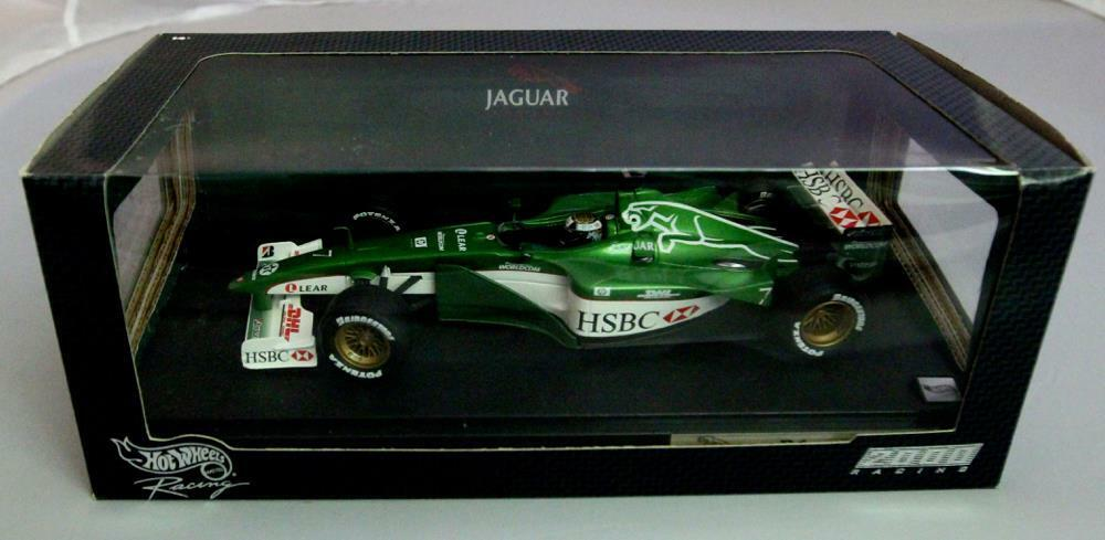 HOT WHEELS 26741 JAGUAR RACING R1 échelle 1 18 Eddie IRVINE Saison 2000 HSBC