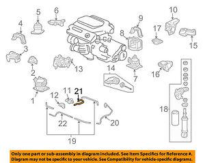 Details about Acura HONDA OEM 07-08 TL Engine Motor Transmission-Pipe on