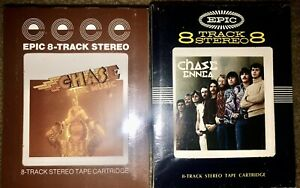 LOT-OF-2-SEALED-NEW-UNOPENED-CHASE-PURE-MUSIC-amp-ENNEA-8-TRACK-TAPES-RARE-LOOK