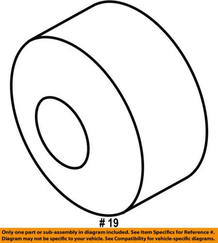 FORD OEM Hood-Bumper Cushion 8G1Z16758B