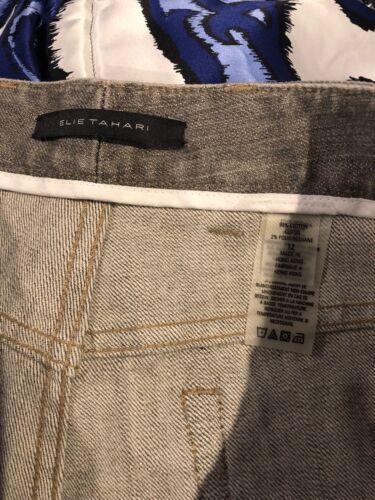 grigi Tahari svasati Elie New Jeans Taglia 12 svasati leggermente Pantaloni e XR4qxqwC