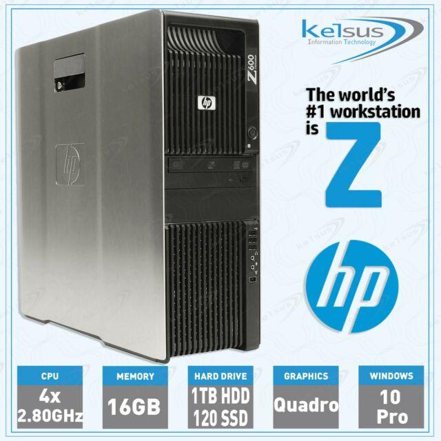 Hp Z600 Workstation Drivers Windows 7 64 Bit