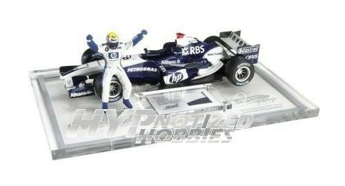 Hot Wheels 1 18 Formule 1 Course BMW Williams 1 Équipe Moulage sous Pression