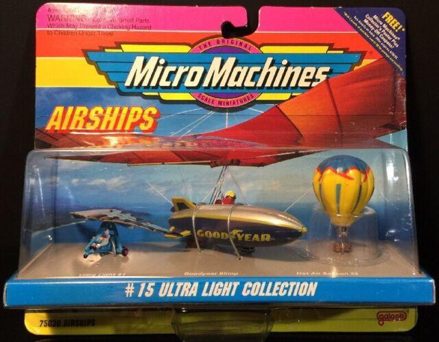 Micro Machines AirShips #15 Ultra Light Collection NIP