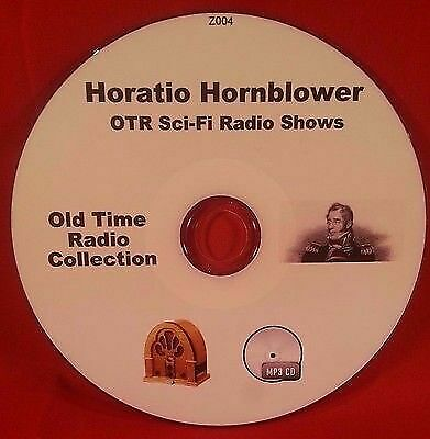 Adventures of Horatio Hornblower OTR 52 Old Time Radio Shows MP3 CD Audio Book