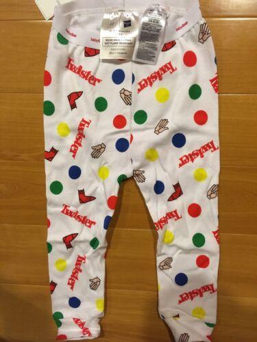 BABY GAP 2 Piece HASBRO Twister Sleep Set 100/% COTTON 4 Sizes Pajama PJ