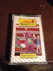 Barney and the Backyard Gang Barney In Concert Cassette ...