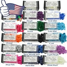 Us Dental Orthodontic Ligature V Ties Elastic Rubber Bands 17 Colors 1000pcsbox