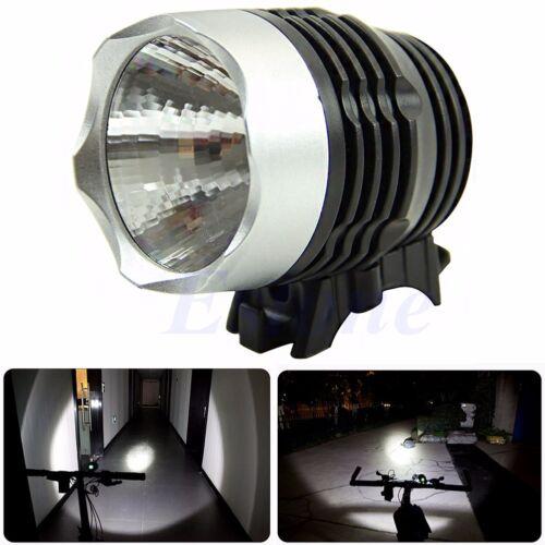 1000 lumen Cycling Bike Bicycle LED Front HEAD LIGHT Flashlight 3W