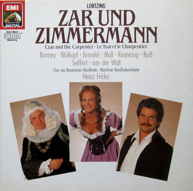 ██ OPER ║ Albert Lortzing (*1801) ║ ZAR UND ZIMMERMANN ║ Kurt Moll ║ 2CD