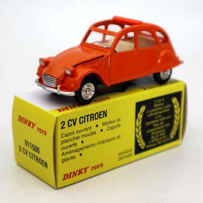 Atlas 1:43 Dinky toys 011500 2CV Citroen Diecast Models Collection