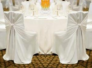 Image Is Loading 100 Polyester Universal Self Tie Chair Cover Wedding