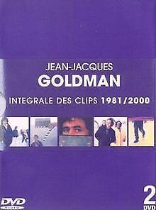 Jean-Jacques-Goldman-L-039-Integrale-des-clips-1981-2000-DVD-Zustand-gut