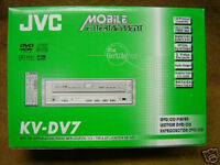 Jvc Kv-dv7 Dvd / Cd In-dash Player Din Size