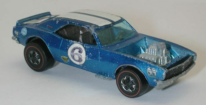 Rossoline Hotwheels blu 1970 Heavy Chevy oc7674