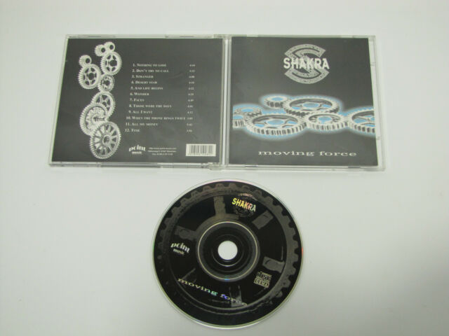 CD  SHAKRA - Moving Force