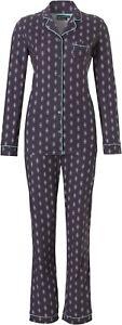 14 Navy aqua Bnwt Pastunette pigiama 10 Set Last ~ Sizes 7qHaPwT