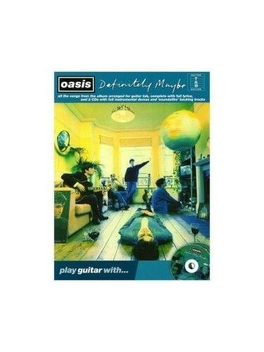 Play Guitar With... Oasis: Definitely Maybe, New Books