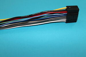 wire harness for kenwood kdc bt558u kdc x794 100 copper new ebay rh ebay com