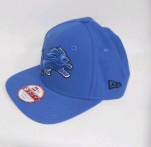 DETROIT-LIONS-NFL-NEW-ERA-9FIFTY-OFFICIAL-SNAPBACK-HAT-Strapback