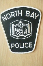 Patches: NORTH BAY CANADA POLICE PATCH (NEW* apx.10.5x10 cm)