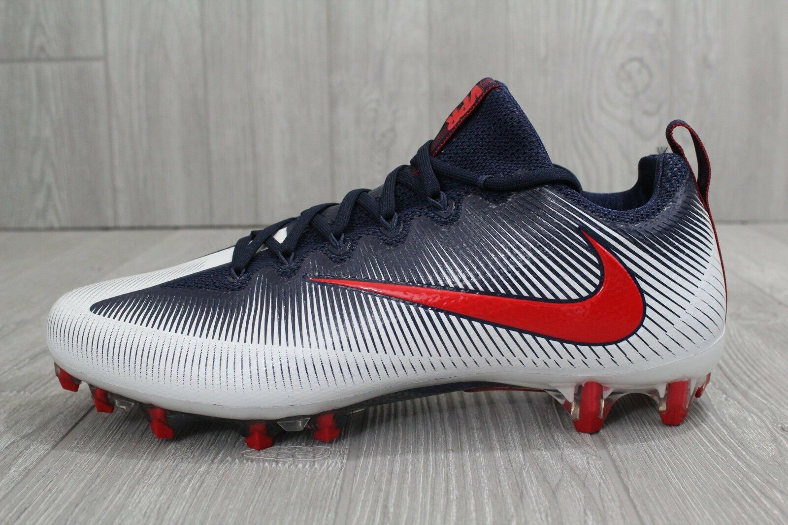 Nike Vapor intocable pro PF Football 839924-113 cleat azul rojo blanco 839924-113 Football 12 9a30a8