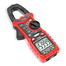 Ac Dc Ht206d Digital Multimeter Tester 6000 Counts Volt Ohm Amp Clamp Meter