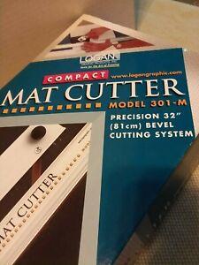 Logan Compact Mat Cutter Model 301 M Precision 32 Quot Bevel