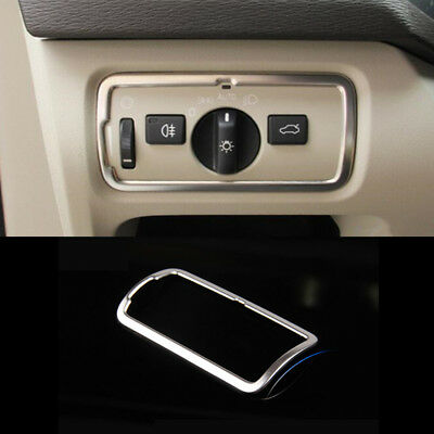 Stainless Steel Dashboard Air Outlet Cover Trim  Frame Strip For Volvo XC60 14+