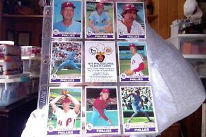 1979-PHILADELPHIA-PHILLIES-22-CARD-TOPPS-BURGER-KING-SET-with-checklist
