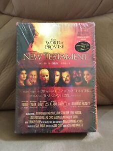 Details about The Word of Promise NEW TESTAMENT Audio NKJV Bible (20-CD  Set) Jim Caviezel