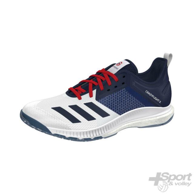 adidas crazyflight volley 44 1 2 blue