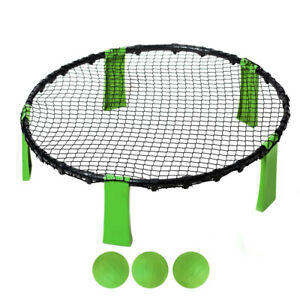Spike Ball Game Beach/Lawn Volleyball Outdoor Sports Round Bouncer Net/Ball Toy