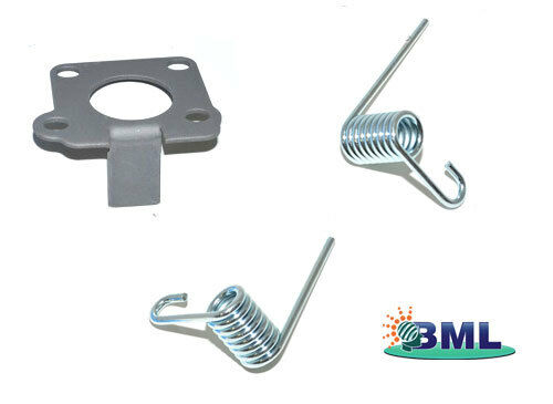 LR DISCOVERY1 LT77 GEAR LEVER BIAS PLATE & SPRING SET. FRC9340, FTC4123, FTC4124
