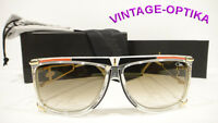 Cazal 866 Sunglasses Legend Crystal Red Black Gold (646) Authentic