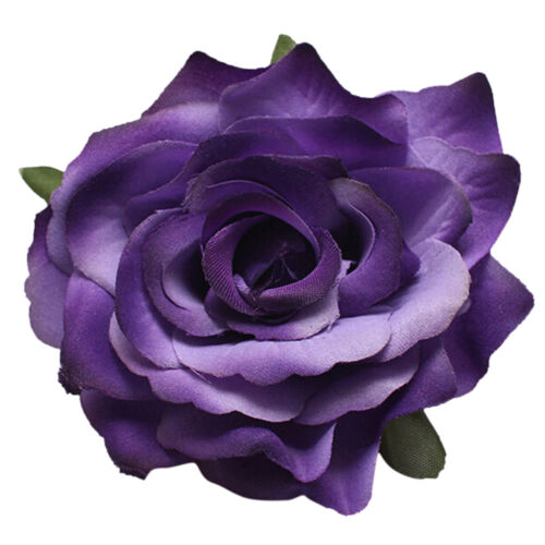 Bridal Rose Flower Hairpin Brooch Wedding Bridesmaid  Accessories Hair Clip OJ