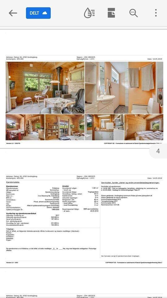 4667 Fritidsbolig, 40 m2, Dalvej 18