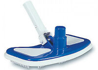 Swimming Pool Adjustable Weighted Vacuum Head W/brushes For Vinyl, Concrete Pool on sale