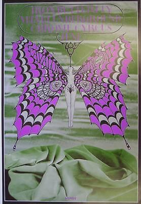 Velvet Underground Iron Butterfly Retro Concert Promotional Poster Various Sizes